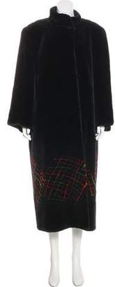 Neiman Marcus Sheared Fur Coat