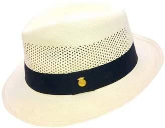 b26b86ad La Marqueza Hats - Vented Golf Handwoven Panama Hat Snap Brim