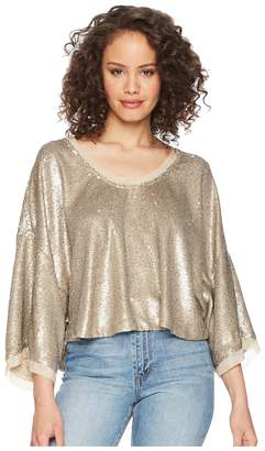 Free People Champagne Dreams Tee Women's T Shirt