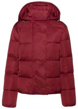 HUGO Hooded jacket with water-repellent finish