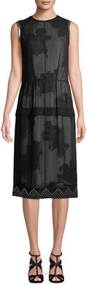 Derek Lam 10 Crosby Derek Lam Floral Layer Dress