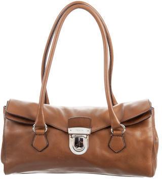 pradaPrada Leather Easy Bag