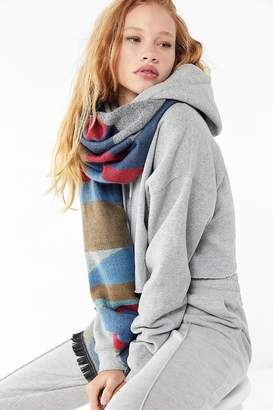 Urban Outfitters Southwestern Woven Blanket Scarf