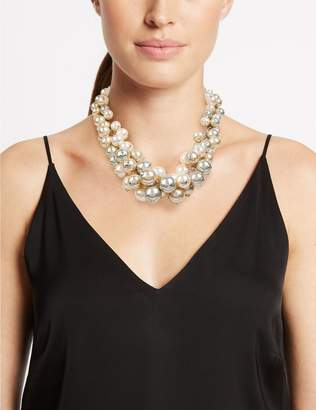 Marks and Spencer Pearl Effect Cluster Necklace