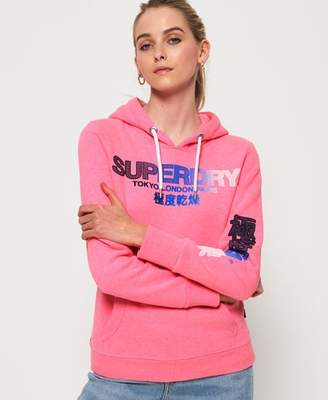 Superdry City Nights Ombre Puff Hoodie