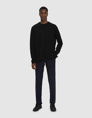 Officine Generale Italian Flannel Paul Pants in Navy