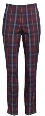 Rag & Bone Simone Plaid Crop Skinny Pants