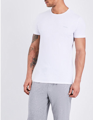Diesel Jake pack of three cotton-jersey t-shirts $39 thestylecure.com