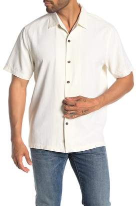 Tommy Bahama Bahama Reserve Short Sleeve Original Fit Silk Shirt