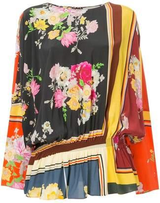 Preen Line multi-print blouse