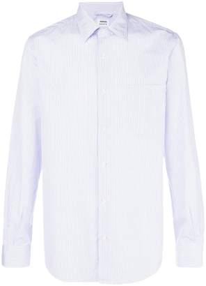 Aspesi striped slim-fit shirt