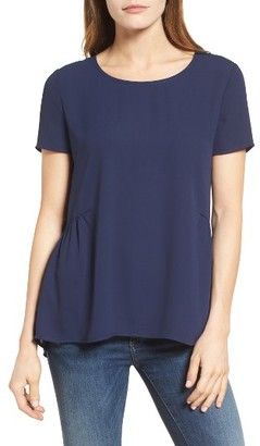 Women's Pleione Ruffled Peplum Back Top $42 thestylecure.com
