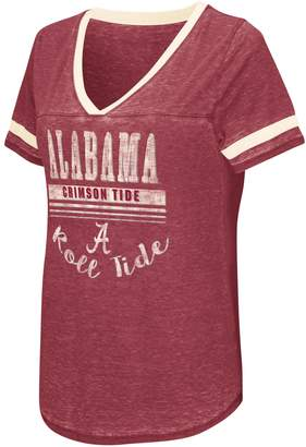 NCAA Women's Campus Heritage Alabama Crimson Tide Gunther Jersey Tee