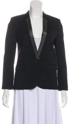 The Kooples Embellished Wool Blazer