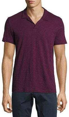 Theory Willem Nebulous Polo Shirt $85 thestylecure.com