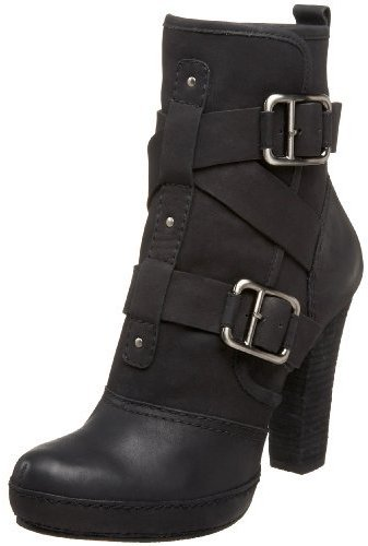 DKNY Women's Malina Double Buckle Ankle Bootie
