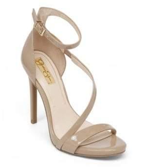 Jessica Simpson Asymmetrical Strap Heels