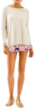 Lilly Pulitzer Romana Heathered Sweater $138 thestylecure.com