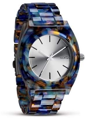Nixon Women's The Time Teller Acetate Watch, 40mm