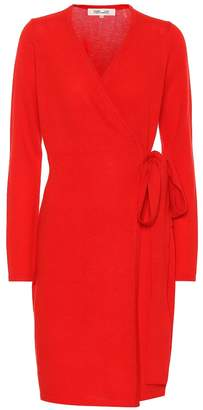 Diane von Furstenberg New Linda wool and cashmere dress