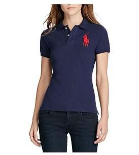 Polo Ralph Lauren Big Pp Polo Logo Basic Mesh Polo T-Shirt