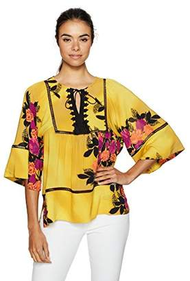 Plenty by Tracy Reese Women's Peasant Blouse