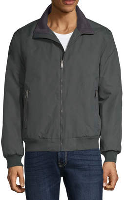 ST. JOHN'S BAY Lightweight Fleece Lined Microfiber Jacket