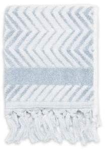 Chevron Turkish Cotton Washcloth
