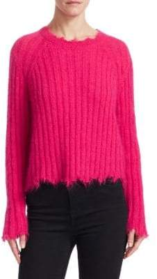 IRO Cropped Crewneck Sweater