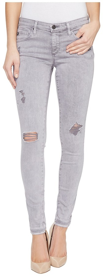 AG Jeans AG Adriano Goldschmied Leggings Ankle in Interstellar Worn Silver Ash