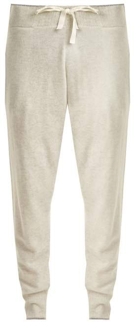 MORGAN LANE Hailey cashmere track pants