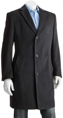 Jean Paul Gaultier Germain Men's Jean-Paul Germain Classic-Fit 38-in. Wool-Blend Top Coat