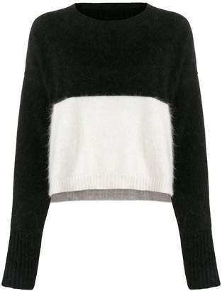 Diesel colour block sweater