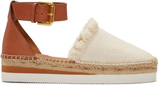 See by Chloé Ivory Glyn Espadrilles $175 thestylecure.com
