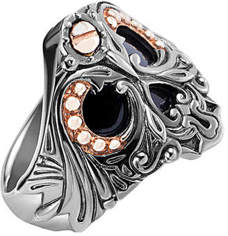 Stephen Webster Men's Silver Onyx Ring