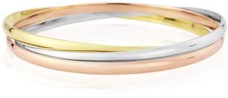 Walton Auree Jewellery 9ct Gold Russian Wedding Bangle 3mm