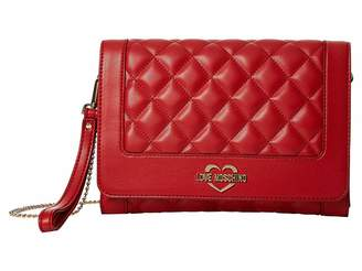 Love Moschino Super Quilted Crossbody Chain Strap