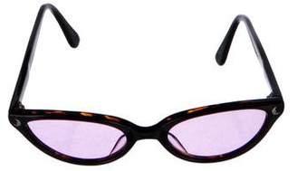 Kieselstein-Cord Moonglow Cat-Eye Sunglasses
