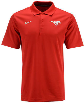 Nike Men's Southern Methodist Mustangs Varsity Team Logo Polo