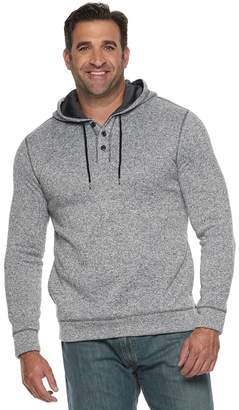 Sonoma Goods For Life Big & Tall SONOMA Goods for Life Supersoft Sweater Fleece Henley Hoodie