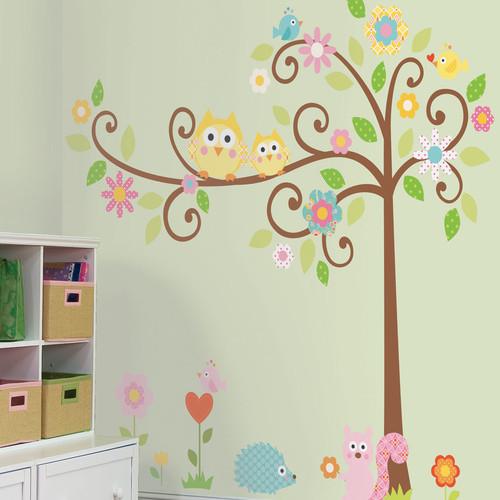 Room Mates Megapacks Scroll Tree Wall Decal