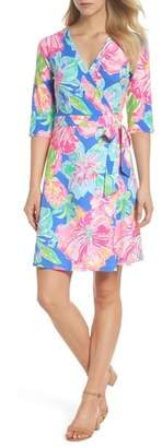 Lilly Pulitzer R) Marvista Wrap Dress