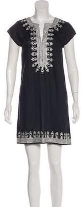 Calypso Embroidered Knee-Length Dress w/ Tags