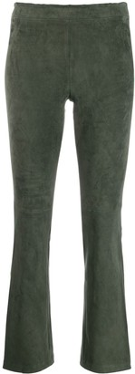 STOULS classic cropped trousers