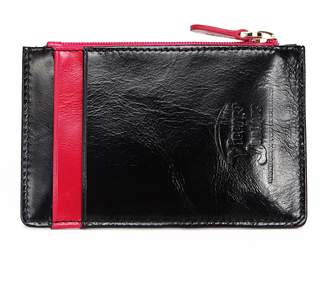 Vicenzo Leather Lia Leather Credit Card Holder