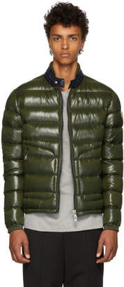 Moncler Green Down Aubert Jacket