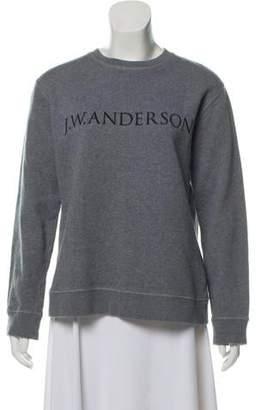 J.W.Anderson Woven Crew Neck Sweater