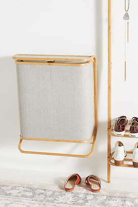 Anthropologie Bamboo Hamper