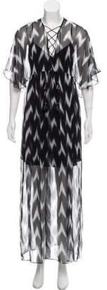 Rachel Zoe Silk Chiffon Carroll Gown w/ Tags