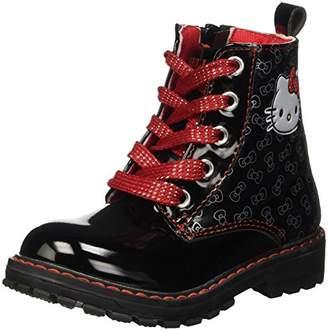 Hello Kitty Girls' S16856GAZ Newborn Booties Black Size: 11.5 Child UK